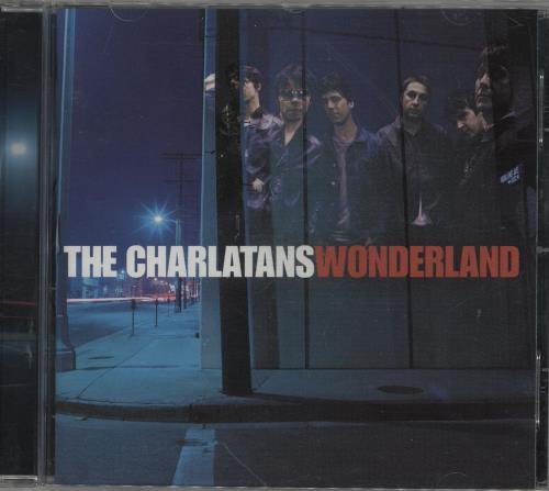 The Charlatans (UK) Wonderland CD album (CDLP) German CHACDWO753484