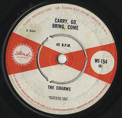 """The Charms Carry, Go, Bring, Come 7"""" vinyl single (7 inch record) UK T5C07CA452077"""
