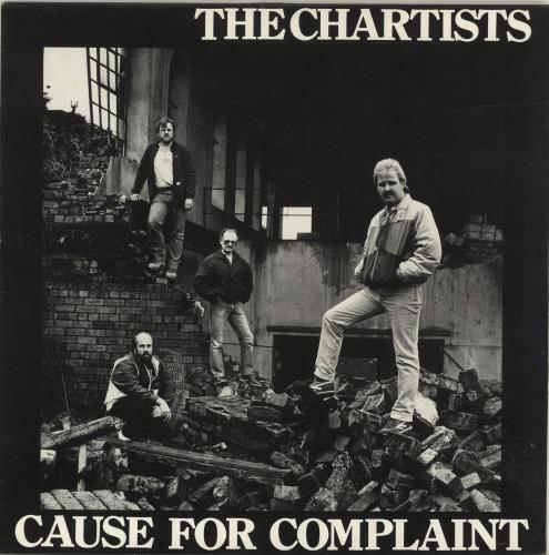 The Chartists Cause For Complaint vinyl LP album (LP record) UK YW4LPCA694684