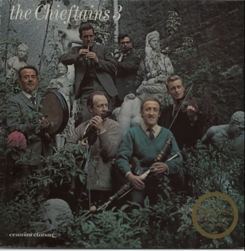 The Chieftains The Chieftains 3 vinyl LP album (LP record) Irish TCFLPTH606553