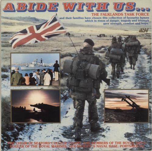The Choir Of Seaford College Chapel Abide With Us ... vinyl LP album (LP record) UK YVULPAB693831