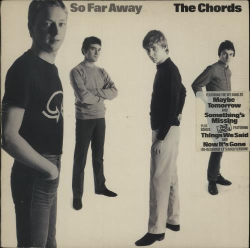 The Chords So Far Away UK vinyl LP album (LP record) (359846)