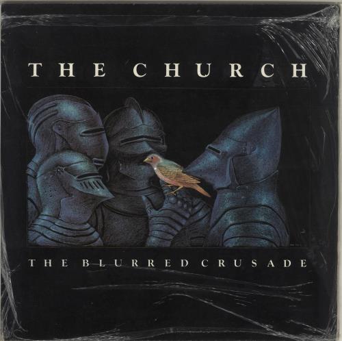 The Church The Blurred Crusade - 2nd vinyl LP album (LP record) UK CHULPTH674303