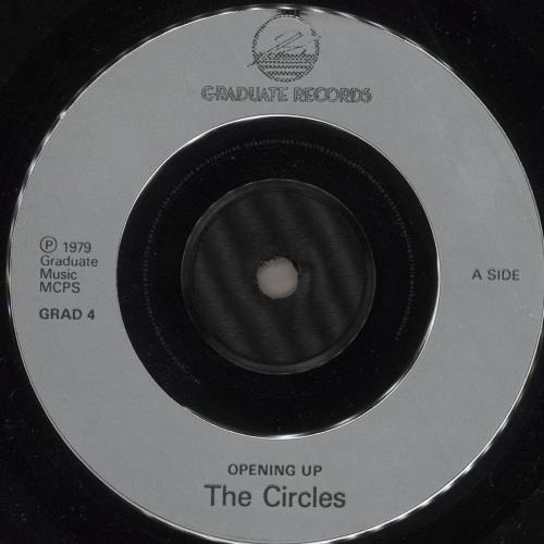 "THE CIRCLES [Mod] Opening Up 7"" vinyl single (7 inch record) UK Z7E07OP725294"