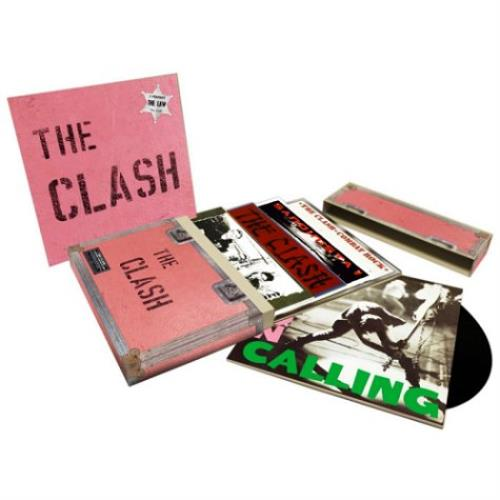 The Clash 5 Studio Album LP Set - Sealed Vinyl Box Set UK CSHVXST591524