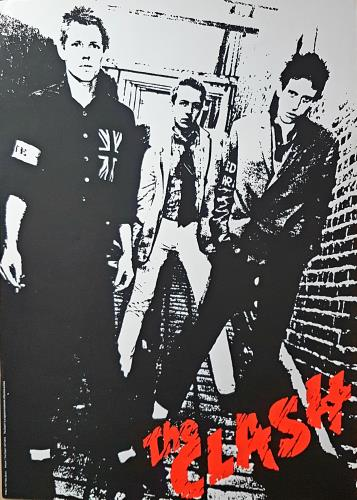 The Clash Black Market Clash Exhibition 2013 poster UK CSHPOBL645815
