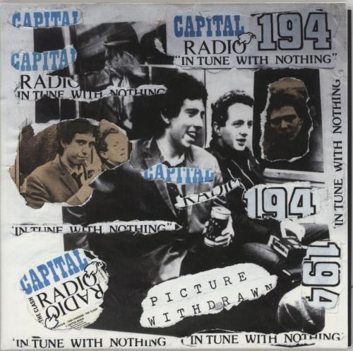 "The Clash Capital Radio - Punk Art Sleeve 7"" vinyl single (7 inch record) UK CSH07CA757447"