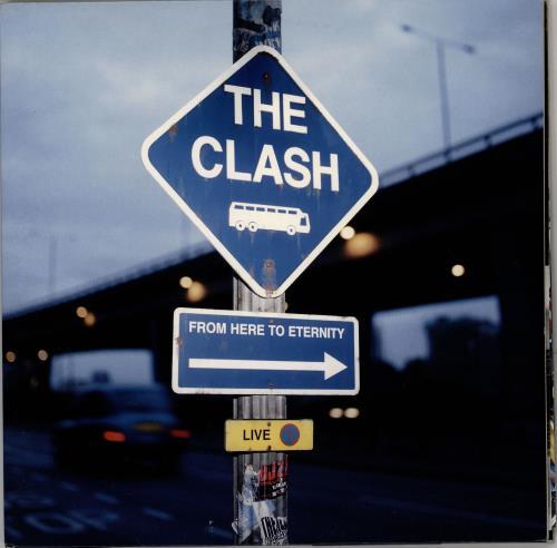 The Clash From Here To Eternity 2-LP vinyl record set (Double Album) UK CSH2LFR742194