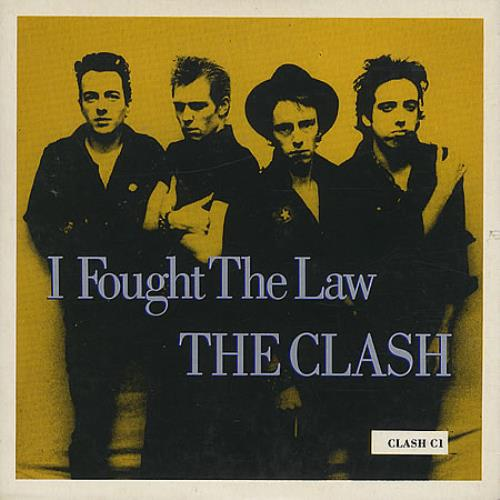 "The Clash I Fought The Law CD single (CD5 / 5"") UK CSHC5IF23169"