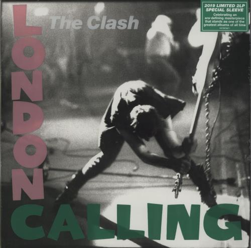 The Clash London Calling - Limited Special Sleeve 2-LP vinyl record set (Double Album) UK CSH2LLO758452