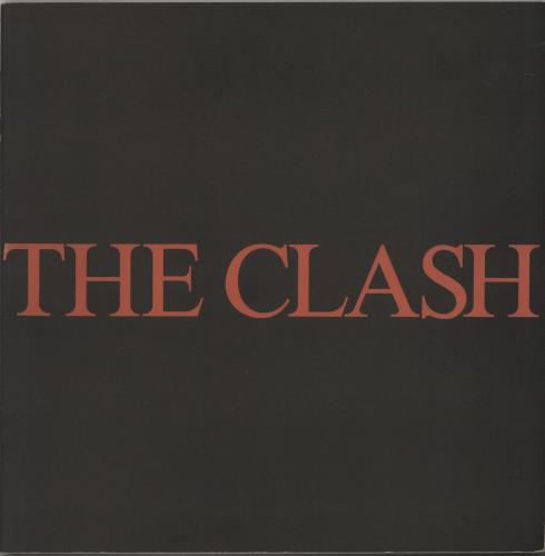 The Clash The Clash tour programme Japanese CSHTRTH138180