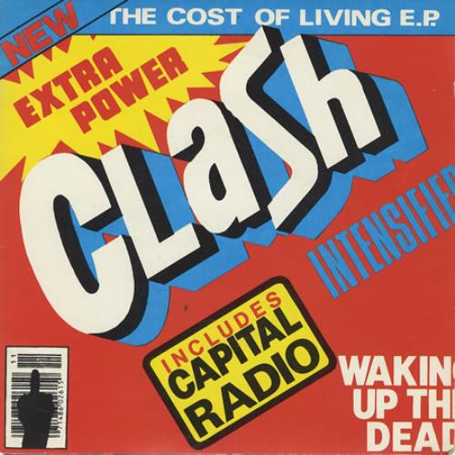 """The Clash The Cost Of Living EP 7"""" vinyl single (7 inch record) UK CSH07TH116733"""