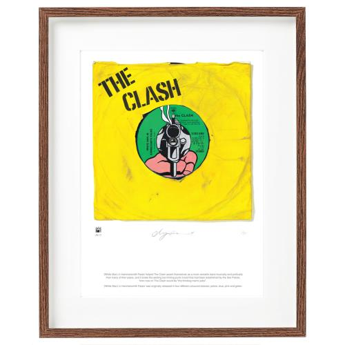 The Clash White Man In Hammersmith - SuperSizeArt Numbered Print artwork UK CSHARWH732507