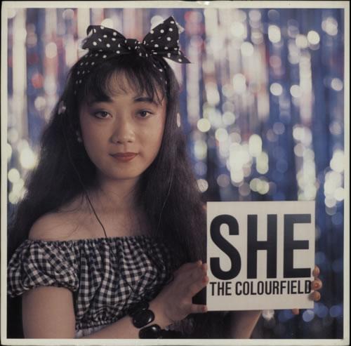 "The Colourfield She 12"" vinyl single (12 inch record / Maxi-single) UK CFD12SH129159"