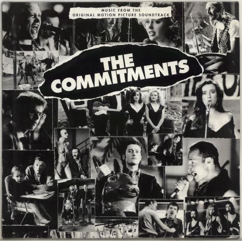 The Commitments The Commitments vinyl LP album (LP record) German CMTLPTH351015
