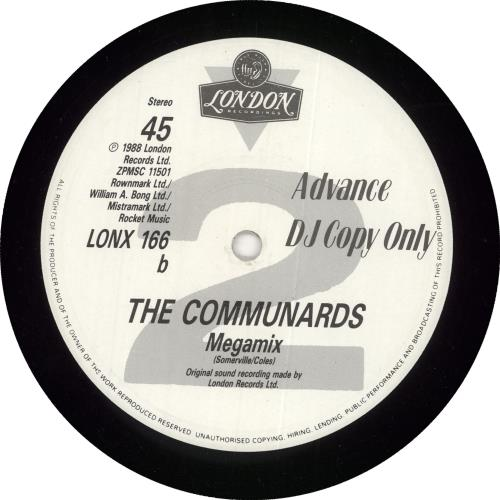 """The Communards For A Friend 12"""" vinyl single (12 inch record / Maxi-single) UK COM12FO726696"""