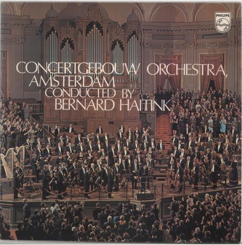 The Concertgebouw Orchestra Concertgebouw Orchestra Amsterdam vinyl LP album (LP record) UK YYQLPCO721057