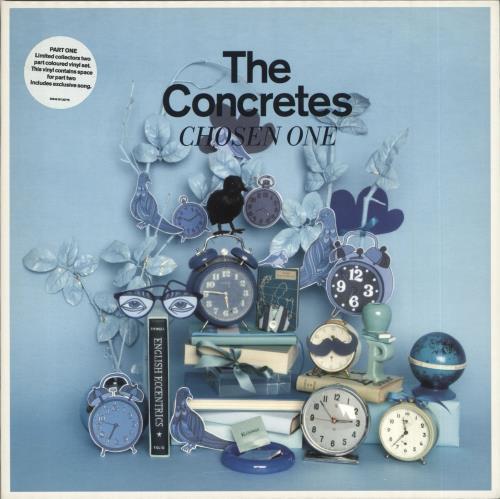 "The Concretes Chosen One - Blue Vinyl 7"" vinyl single (7 inch record) UK ULX07CH351546"
