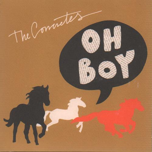 """The Concretes Oh Boy + Press Release CD single (CD5 / 5"""") Swedish ULXC5OH646291"""