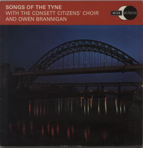 The Consett Citizen's Choir Songs Of The Tyne vinyl LP album (LP record) UK X4-LPSO664661