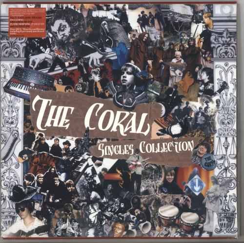 The Coral The Singles Collection 3-LP vinyl record set (Triple Album) UK C.O3LTH445530