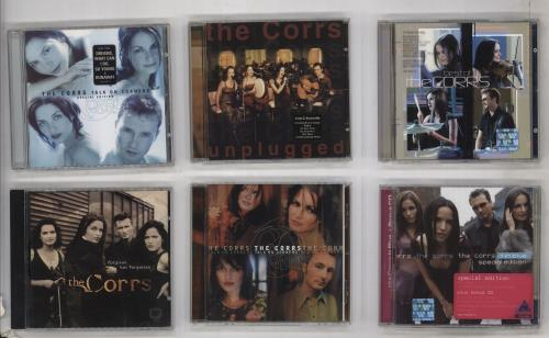 The Corrs 7 CD Lot CD album (CDLP) German ORRCDCD738708