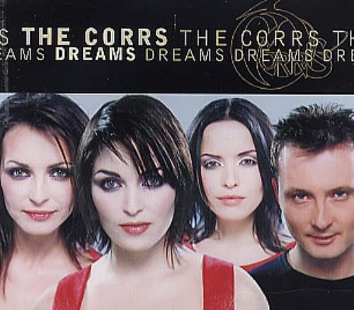 "The Corrs Dreams (Remixes) CD single (CD5 / 5"") UK ORRC5DR112556"