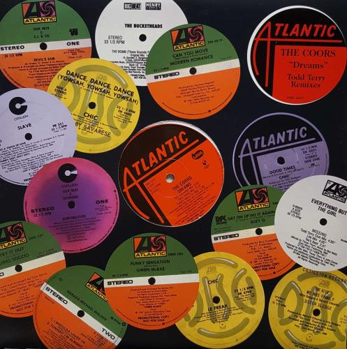 "The Corrs Dreams 12"" vinyl single (12 inch record / Maxi-single) US ORR12DR113899"