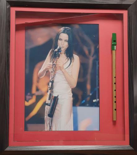 The Corrs Framed Tin Whistle & Photograph memorabilia UK ORRMMFR667694