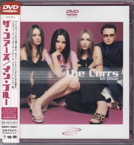The Corrs In Blue DVD-Audio disc Japanese ORRADIN709798