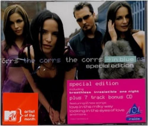 cd the corrs - in blue