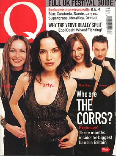 The Corrs Q - July 1999 magazine UK ORRMAQJ340996