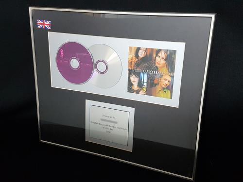 The Corrs Talk On Corners award disc UK ORRAWTA701084