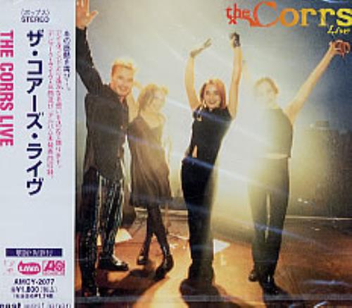 The Corrs The Corrs Live CD album (CDLP) Japanese ORRCDTH77662