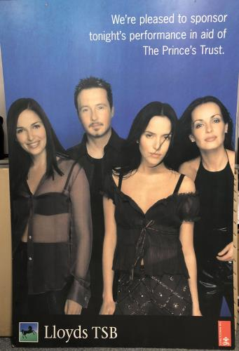 The Corrs The Princes Trust Display Board display UK ORRDITH682957