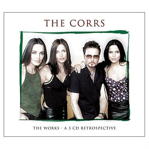 The Corrs The Works UK 3-CD album set (Triple CD) (412575)
