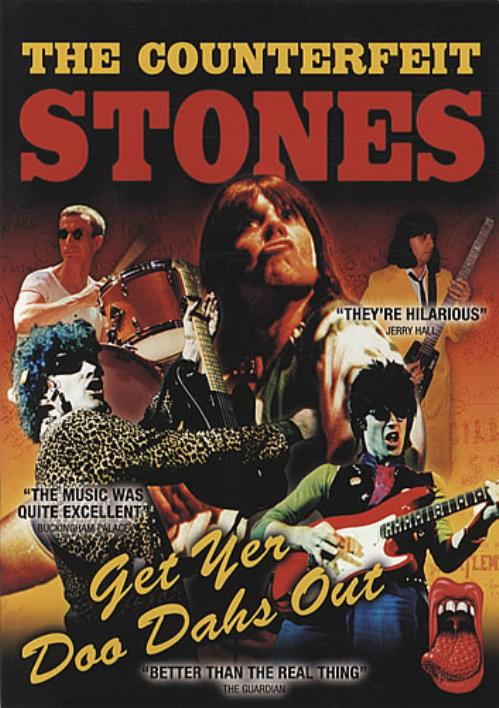 The Counterfeit Stones Get Yer Doo Dahs Out tour programme UK COQTRGE340725