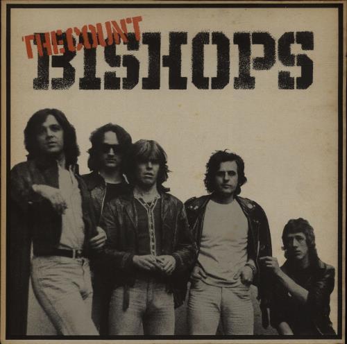 The Count Bishops The Count Bishops vinyl LP album (LP record) UK CBILPTH112332
