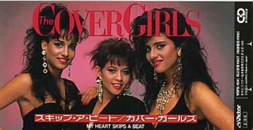 "The Cover Girls (US) My Heart Skips A Beart 3"" CD single (CD3) Japanese CVGC3MY305319"