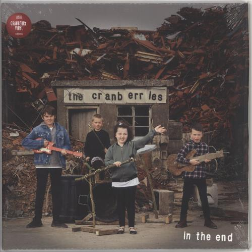 The Cranberries In The End - Cranberry Vinyl - Sealed vinyl LP album (LP record) UK CRBLPIN719744