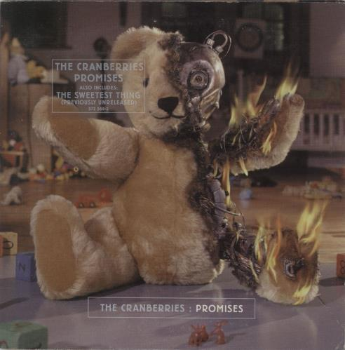 "The Cranberries Promises CD single (CD5 / 5"") German CRBC5PR673649"