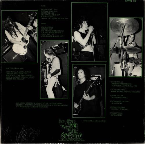 The Creamers Love, Honor, & Obey vinyl LP album (LP record) UK 5CRLPLO704783