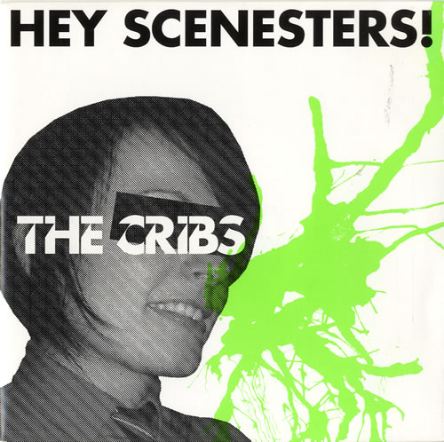 "The Cribs Hey Scenesters! - 2/2 - Clear Vinyl 7"" vinyl single (7 inch record) UK TC107HE321248"