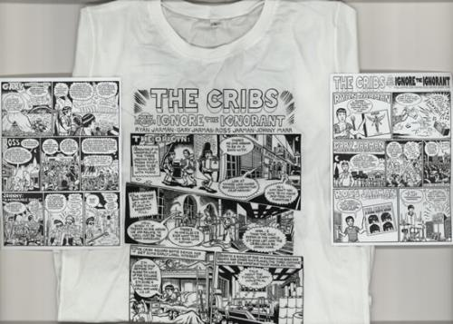 The Cribs Ignore The Ignorant - Small + Comic t-shirt UK TC1TSIG585842