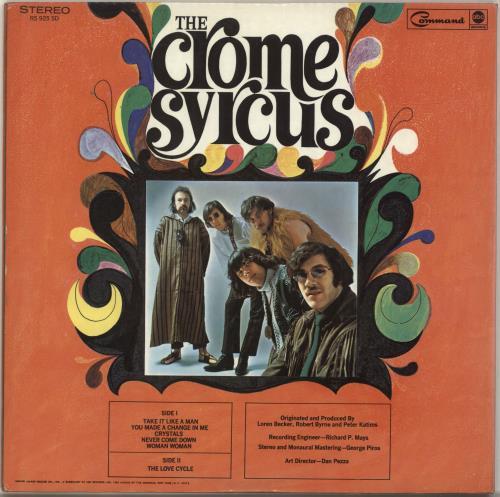 The Crome Syrcus Love Cycle Us Vinyl Lp Album Lp Record 696896