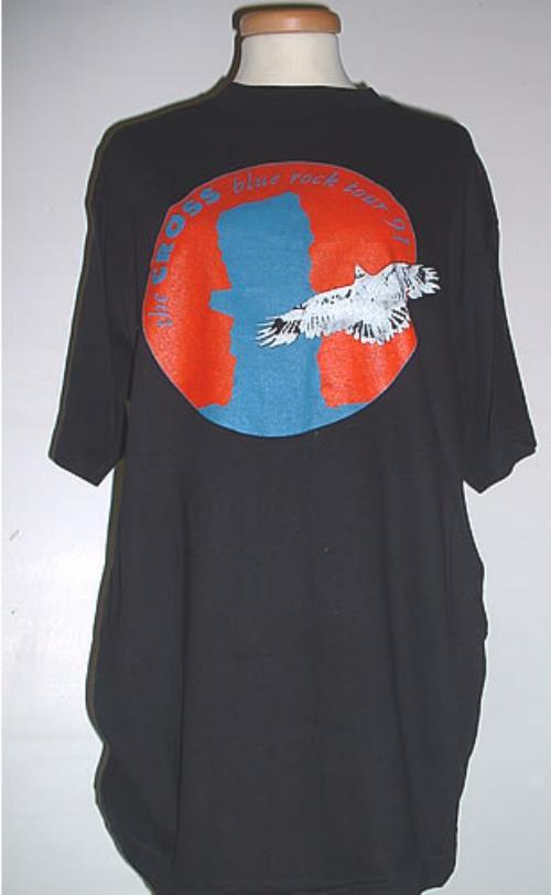 The Cross Blue Rock Tour '91 t-shirt UK CROTSBL330976