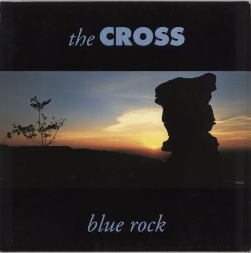 The Cross Blue Rock vinyl LP album (LP record) German CROLPBL92001