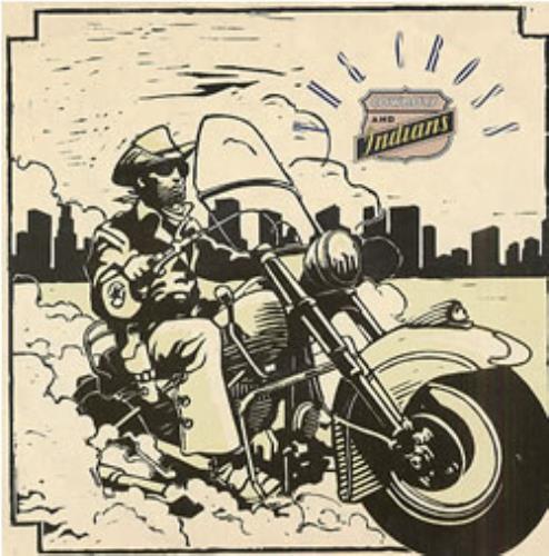"The Cross Cowboys & Indians - EX 12"" vinyl single (12 inch record / Maxi-single) UK CRO12CO08387"