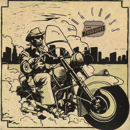 "The Cross Cowboys & Indians 7"" vinyl single (7 inch record) UK CRO07CO19600"