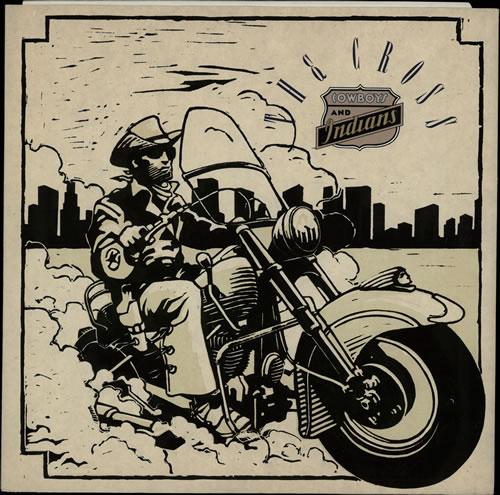 "The Cross Cowboys & Indians 12"" vinyl single (12 inch record / Maxi-single) UK CRO12CO567374"